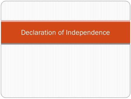 Declaration of Independence. National Treasure The Document itself The Declaration of Independence doesn't have a map on the back. Despite this shortcoming,