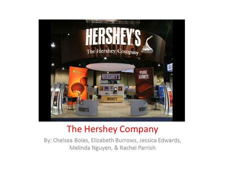 an analysis of the topic of the principles of hershey company Chocolate and child labor: a hurdle for hershey children who amassed stockpiles of halloween candy last month most likely netted impressive loot from just one company hershey claims that it's the largest chocolatier in north america.