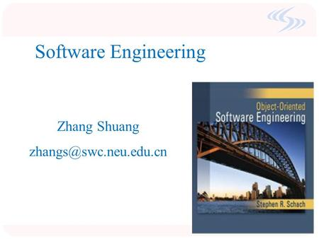 Software Engineering Zhang Shuang