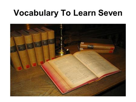 Vocabulary To Learn Seven. At the airport you are not allowed on the airplane until you go through the security check.