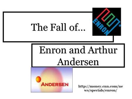an overview of the collapse of enron company Enron ppt 1 the enron scandal and moral hazard prof leigh  continued• appointment of auditor company is in theory byshareholders but in practice by.