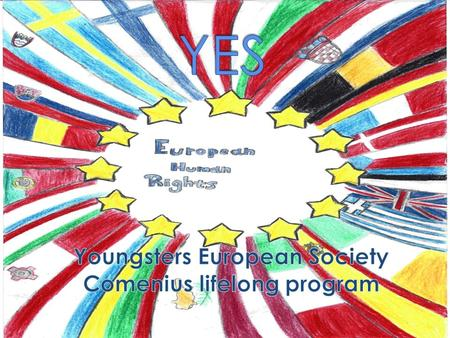 What does the European citizenship entail? Citizenship is about coexisting, stating your opinion, listening to one another, respecting one's opinion,