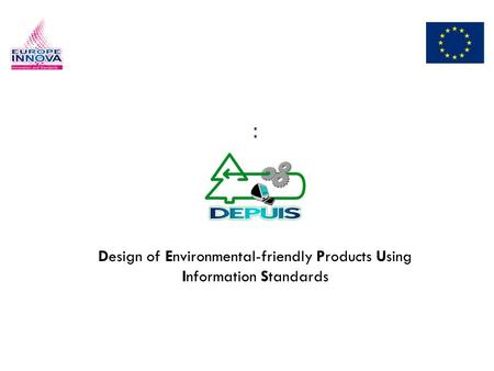 : Design of Environmental-friendly Products Using Information Standards.