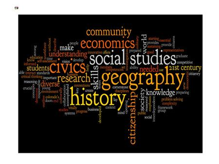 Course Syllabus 6th Grade Social Studies covers several areas of history mandated by the NJ State Department of Education in its Core Curriculum Content.