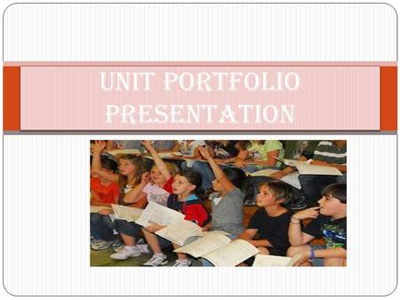 Unit portfolio presentation. VIDEO OF HEAVY SCHOOL BAGS  video video.