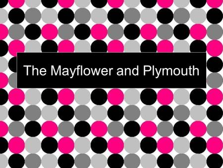 The Mayflower and Plymouth. Religious Freedom Church of England leaders dressed like royalty Separatists didn't want a fancy church with alters, candles.
