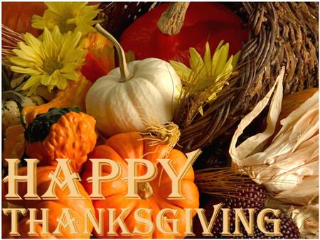 On the fourth Thursday in November the Americans celebrate the holiday called Thanksgiving. It is a national holiday.