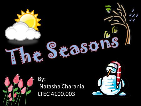 By: Natasha Charania LTEC 4100.003. Click on pictures to learn more.