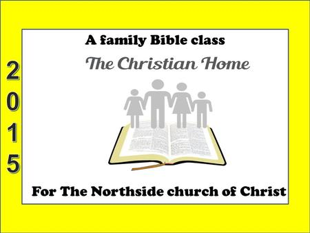 For The Northside church of Christ