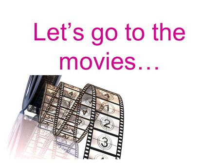 Let's go to the movies…. cinema ticket Genres horror comedy action romance animation sci-fi.