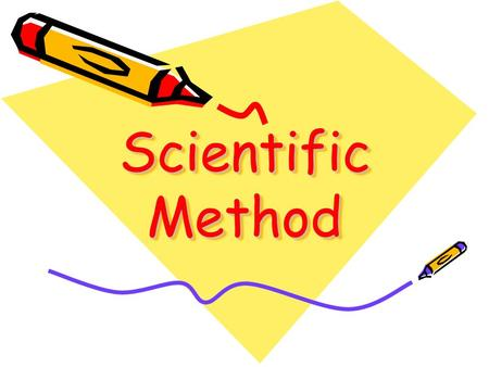 Scientific Method. What is Science? Science is the process of observing, asking questions, and finding things out about the world around you. The process.