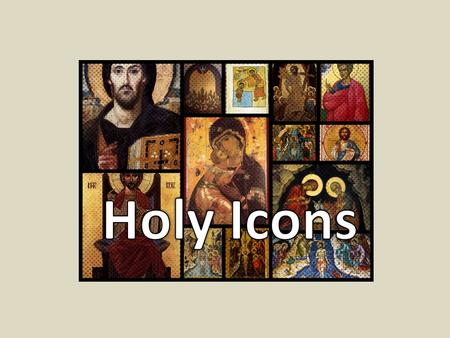 What are Icons? The English term Icon, which means likeness, image, or representation, comes from the Greek word eikon. Iconography is an art form.