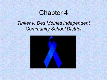 Tinker v des moines case study for students