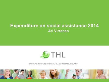 Expenditure on social assistance 2014 Ari Virtanen.