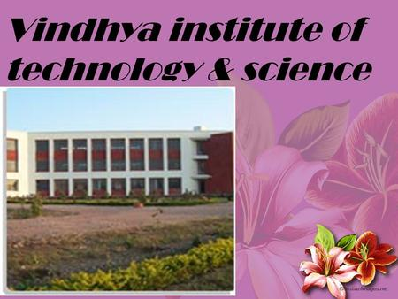 Vindhya institute of technology & science. What is an ECOSYSTEM ? ECOSYSTEM – It is a biological environment consists of all the organism living in.