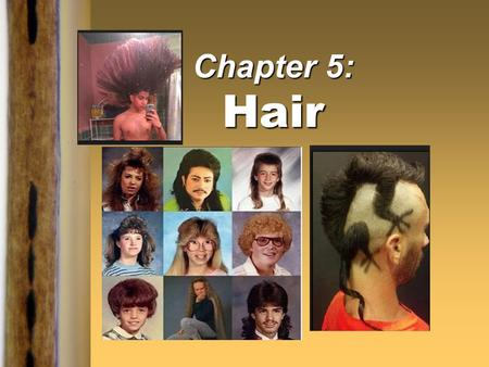 "Chapter 5: Hair "". Kendall/Hunt Publishing Company1 Introduction  Human hair is one of the most frequently found pieces of evidence at the scene of a."