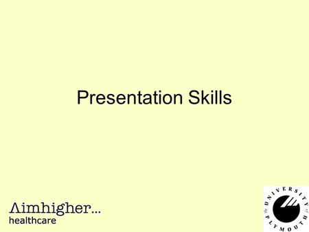 Presentation Skills. What are your concerns about preparing or giving a presentation?