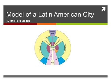 Model of a Latin American City