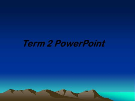 Term 2 PowerPoint. Engineering Design Central Concepts: Engineering design involves practical problem solving, research, development, and invention/innovation,