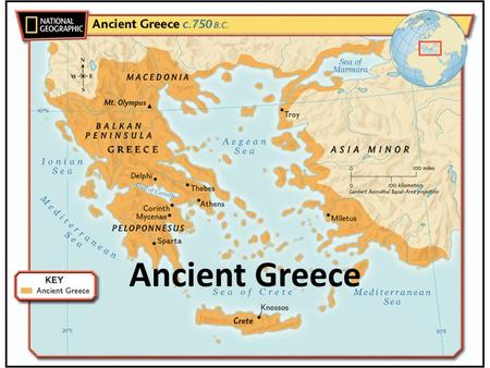 Ancient Greece. Greece: Geography Had a huge impact on development of Greece Much smaller compared to Mesopotamia and Egypt 50,000 square miles.