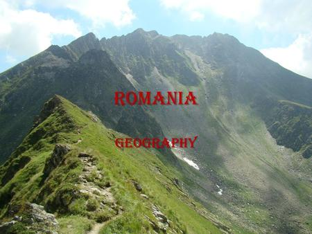 Romania Geography. General description Romania is the twelfth largest country in Europe. Romania is the twelfth largest country in Europe. Situated in.
