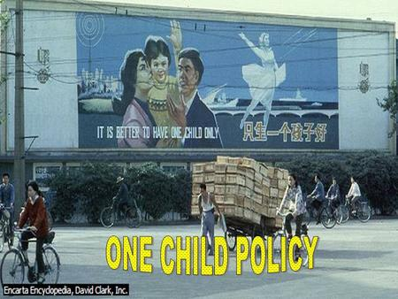 OVERVIEW 1. The One-Child Policy began in 1979 when China was under the leadership of Deng Xiaoping. 2. The policy limits couples living in urban areas.