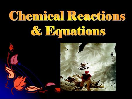 Chemical Reactions Chemical rxns occur when atoms are: Separate d As reactants turn into products, what happens to bon holding atoms together ? Old Bon.