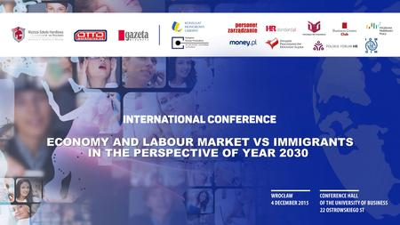 Eric de Jong COO OTTO Work Force Demographic changes in Europe and the impact on labour markets and labour migration 2015 - 2030.