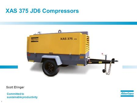 XAS 375 JD6 Compressors Scott Ellinger
