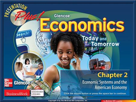 Splash Screen. Chapter Menu Chapter Introduction Section 1:Section 1:Economic Systems Section 2:Section 2:Characteristics of the American Economy Section.
