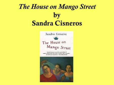 "Shoes Symbolism In ""The House On The Mango Street"" By Sandra Cisnero Essay Sample"
