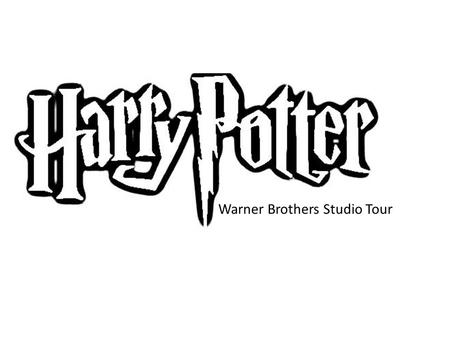 Warner Brothers Studio Tour. The studio is where the movie makers create the various stages on which the actors act. They also construct the sets and.