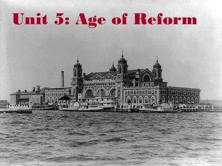 Unit 5: Age of Reform. The Labor Movement Vocabulary  Scab - A worker who refused to strike; also another name for a strikebreaker.  Arbitration -