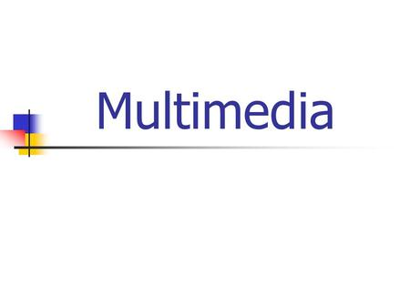 Multimedia. The meaning of multimedia Sequential or simultaneous use of a variety of media formats in a given presentation or self- study program.
