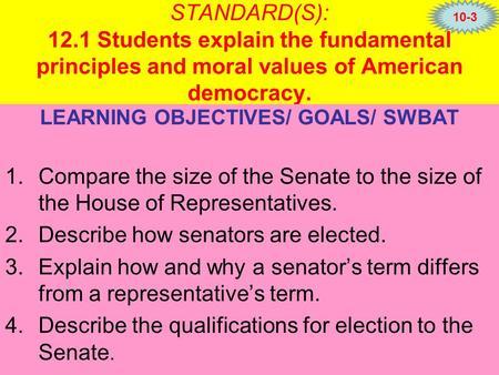 fundamental principles representative democracy