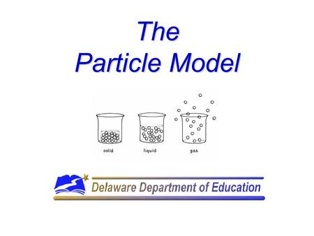 The Particle Model. Models in Science Have you ever put together a model car or airplane? If so, in what ways are the model and the real object the.