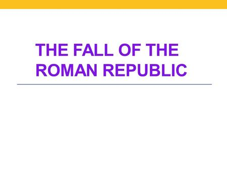 an introduction to the revolutionary roman marius The history of the constitution of the roman republic is a study of the ancient  roman republic  in the immediate aftermath of the revolution, the roman  senate and the roman assemblies were nearly as  over the objections of the  former consul gaius marius, the consul for the year, lucius cornelius sulla was  ordered.