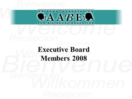 Executive Board Members 2008 Vivian Martinez is currently Assistant Superintendent for Educational Services in Fowler School District, Phoenix, Arizona.