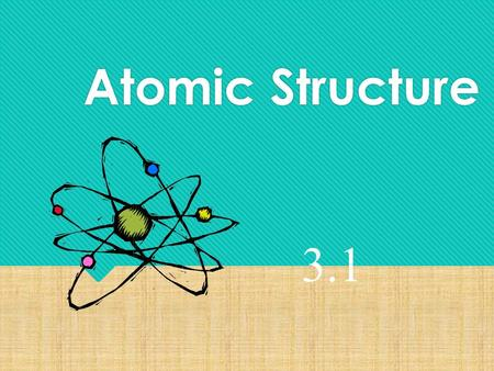 Atomic Structure 3.1. October 1, 2015  Objective: Explain Dalton's atomic theory and describe why it was more successful than Democritus' atomic theory.