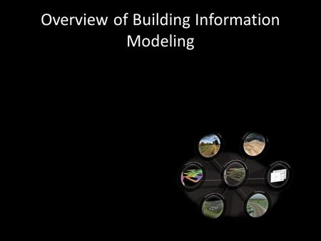 Overview of Building Information Modeling What does it mean for Civil Engineering?