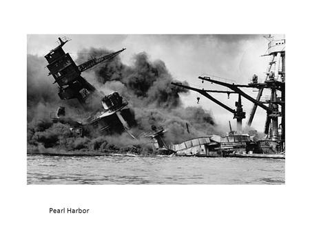 Pearl Harbor. With the official end of the war in 1945, German and Japanese aggression had ended and the nature of warfare had been forever changed. The.