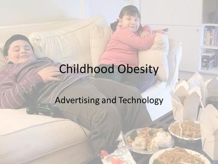 Childhood Obesity Advertising and Technology. Agenda Introductions Key Terms Explore Issues Fish Bowl Break!!!! Group Discussion.