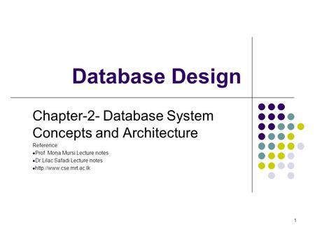 database design concept There are 3 types of relationships in relational database design they are: one-to -one one-to-many (or many-to-one) many-to-many these are.