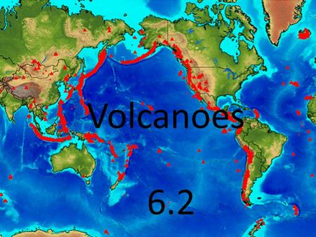 Volcanoes 6.2. What happens when a volcano erupts? The magma in the asthenosphere is under great pressure. Magma rises into the cracks because magma is.