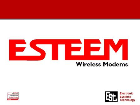 Electronic Systems Technology. New Wireless Product New Wireless Product.
