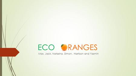 ECO RANGES Max, Jack, Natasha, Simon, Harrison and Yasmin.