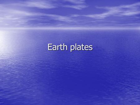 Earth plates. The inner core is a solid iron core. The lower mantle is semi-fluid depending on how close it is to the( liquid iron core is also known.