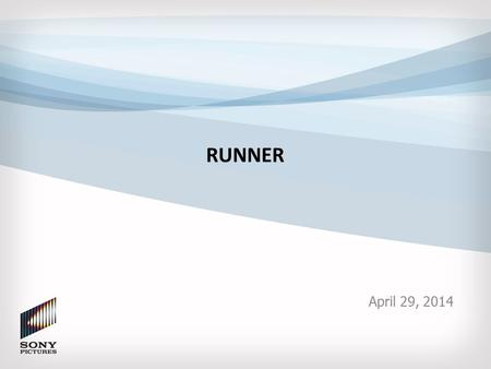 RUNNER April 29, 2014. Executive Summary Business Problem: – cineSHARE, ACORN and EAGL are critical components of major digital media workflows supporting.