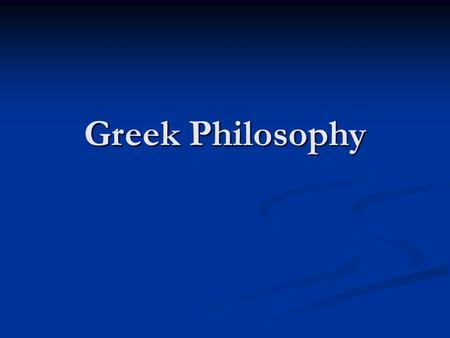 "Greek Philosophy. Pythagoras (c. 570–c. 495 BC) Credited with creating first proof of ""Pythagorean Theorem"" Credited with creating first proof of ""Pythagorean."