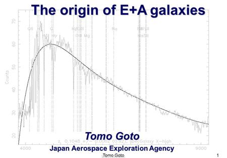 The origin of E+A galaxies